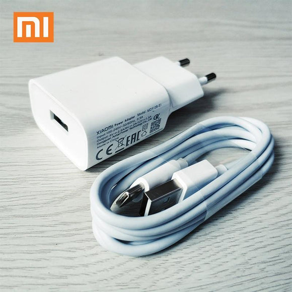 Original Xiaomi Pocophone F1 Charger Eu Plug Qc3.0 Fast 9V 2A Type C Cable For Poco Charger and Cable White