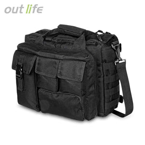 Outlife Outdoor Military Tactical Messenger Bag Shoulder Waterproof Camouflage Handbag Climbing Hiking