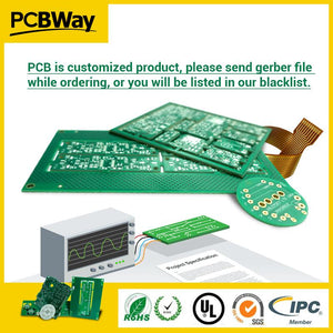 Pcb Prototype 2 Layers Board Supplier Sample Production Small Quantity Fast Run Service The Quote Payment Link3