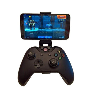 Phone Mount HandGrip Stand for Xbox ONE S/Slim Ones Controller Steelseries Nimbus Gamepad iphone X Samsung S9 S8 Clip Holder