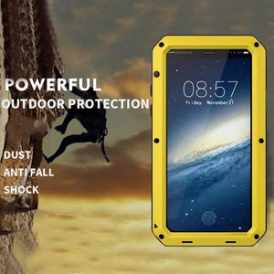 Premium Luxury Doom Armor Shock Waterproof Metal Aluminum Case for iPhone 11/11 Pro