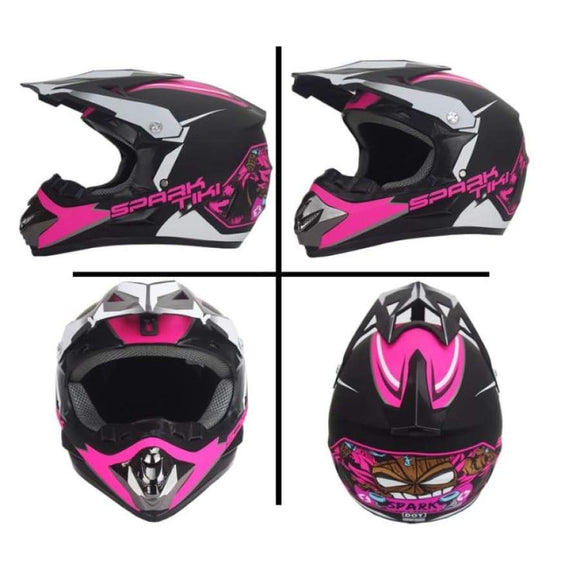Professional Off-Road Motorcycle Helmet Racing Bike Children Atv Vehicle Downhill Dh Cross Co