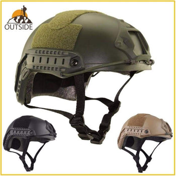 Protective Paintball Wargame Helmet Army Airsoft Mh Tactical Fast With Goggle Lightweight