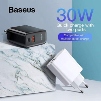 Quick Charge 4 3 Usb Charger 5A For Huawei 30W Qc Pd Fast Iphone