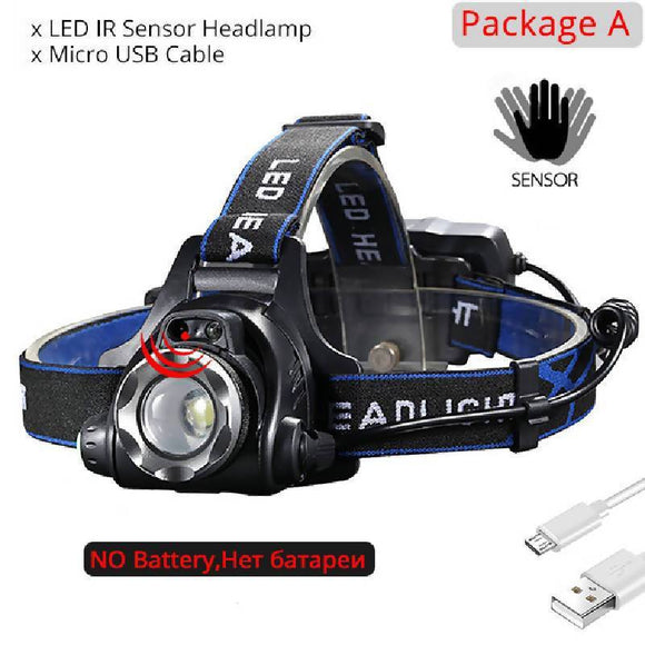 Rechargeable USB Headlight