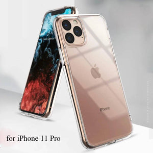 Ringke Fusion Clear PC Back and Soft TPU Frame Hybrid Military Drop Protection Case iPhone 11 Pro