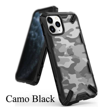 Ringke Fusion Dual Layer PC Clear Back Soft TPU Frame Hybrid Case for iPhone 11 Pro