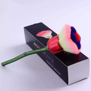 Rose Flower Makeup Brush