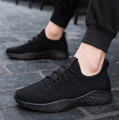 s Sneakers Men Casual Shoes Male Mesh Flats Plus Big Size Loafers Breathable Slip On Spring - Xodeys.com