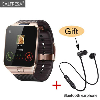 Salfresa Bluetooth Smart Watch Dz09 Smartwatch Tf Sim Camera Men Women Sport Wristwatch For Samsung Huawei Xiaomi Android Phone