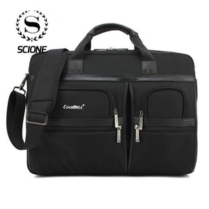 Scione Business Laptop Briefcases For Men Women Waterproof Shockproof Large Shoulder Crossbody Bags Travel Office Tote Handbag