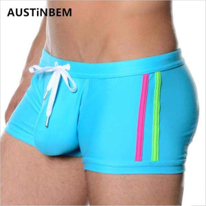 Sexy Men Swimwear Men's Swimsuits Surf Board Beach Wear Man Swimming Trunks Boxer Shorts Swim Suits Gay Pouch Size Xl