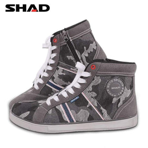 Shad Casual Wear Motorbike Riding Shoes Motorcycle Boots Street Racing Breathable Biker
