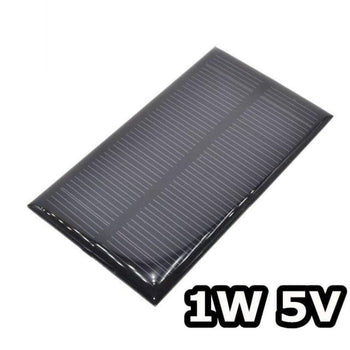 Smart Electronics Solar Panel 1W 5V Electronic Diy Small For Cellular Phone Charger Home Light Toy Etc Cell