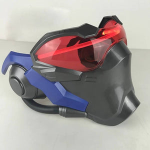 Soldier 76 Cosplay Mask Abs Led Lighting Prop Halloween Gaming Player Collection