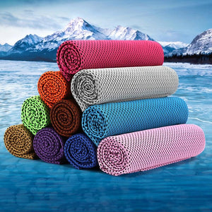 Sports Gym Jogging Enduring Running Instant Ice Cold Chilly Cooling Towel