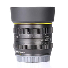 Style Kamlan 50Mm F1.1 Aps-C Large Aperture Manual Focus Lens For Sony E-Mount - Xodeys.com