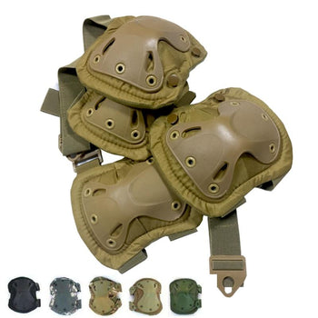 Tactical KneePad Elbow Pad Military Knee Elbow Protector Army Airsoft Outdoor Sport Working Hunting Skating Safety Gear Kneecap