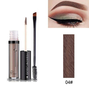 Tattoo Paint Eyebrow Gel Eyebrow Makeup Set Kit Waterproof Eye Brows Tint Creamy with Brush Eyebrow Enhance Tool