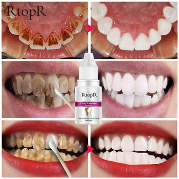 Teeth Oral Hygiene Essence Whitening Daily Use Effective Remove Plaque Stains Cleaning Product Water 10Ml