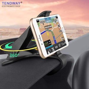 Trendway Car Phone Holder Dashboard Mount Universal Cradle Cellphone Clip Gps Bracket Mobile Stand For In