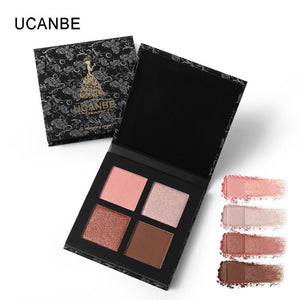 UCANBE Glow Kit Shimmer Highlight Powder Highlighter Maquillage Illuminator Brighten Face Blush Bronzer Makeup Contour Palette