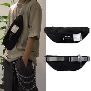 Unisex A-Cold-Wall Acw Waist Bag Backpacks Hip Hop Streetwear Functional Chest Kanye West
