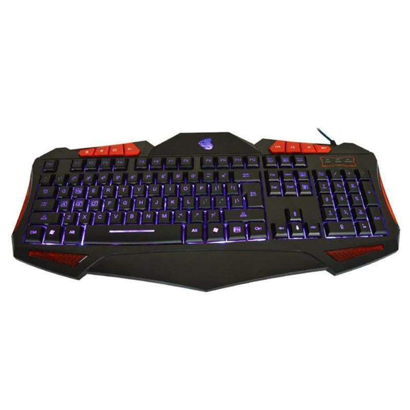 Usb Wired 19 Key Led Gaming Keyboard With 7 Adjustable Colorful Backlights