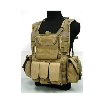 Water Pouch Vest Military Usmc Tactical Combat Molle Rrv Chest Rig Paintball Harness Airsoft