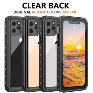 Waterproof Full-Body Rugged with Built-in Screen Protector Shockproof Dustproof Case for iPhone11/11 Pro