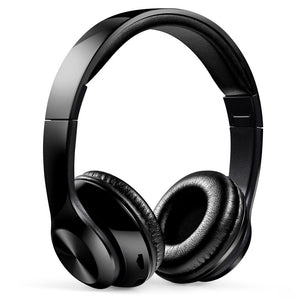 Wediamond WZ8 Wireless Wired Folding Bluetooth 5.0 Headset Support Cards FM Over ear Headband HiFi Headphone with Mic