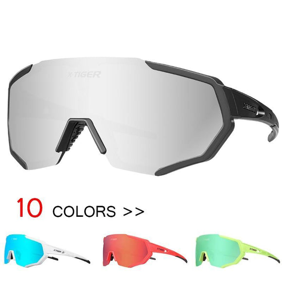 X Tiger Polarized Cycling Eyewear Glasses Mountain Bicycle Sunglasses Uv400 Riding Bike Goggles
