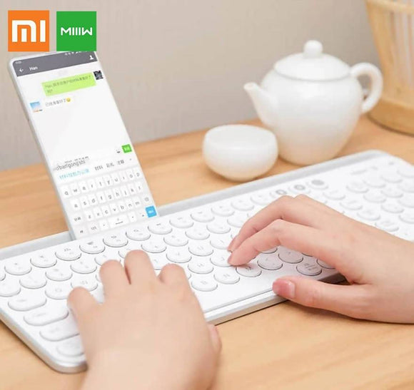 Xiaomi Bluetooth Wireless Keyboard Gaming Computer Keycaps Mechanical Stickers For Ios Android