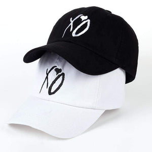 X.O Caps The Dad Hat Xo Baseball Cap Snapback Hats Adjustable Design Women Men Weeknd Starboy S White
