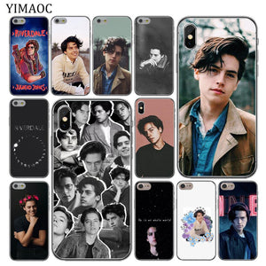 Yimao Riverdale Cole Sprouse Jughead Jones Soft Silicone Phone Case For Iphone Xs Max Xr X 6 6S 7 8 Plus 5 5S Se 10 Tpu Cover