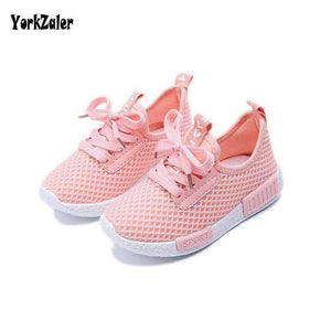 Yorkzaler Spring Autumn Kids Shoes Mesh Casual Children Sneakers For Boy Girl Toddler Baby Breathable Sport Shoe White