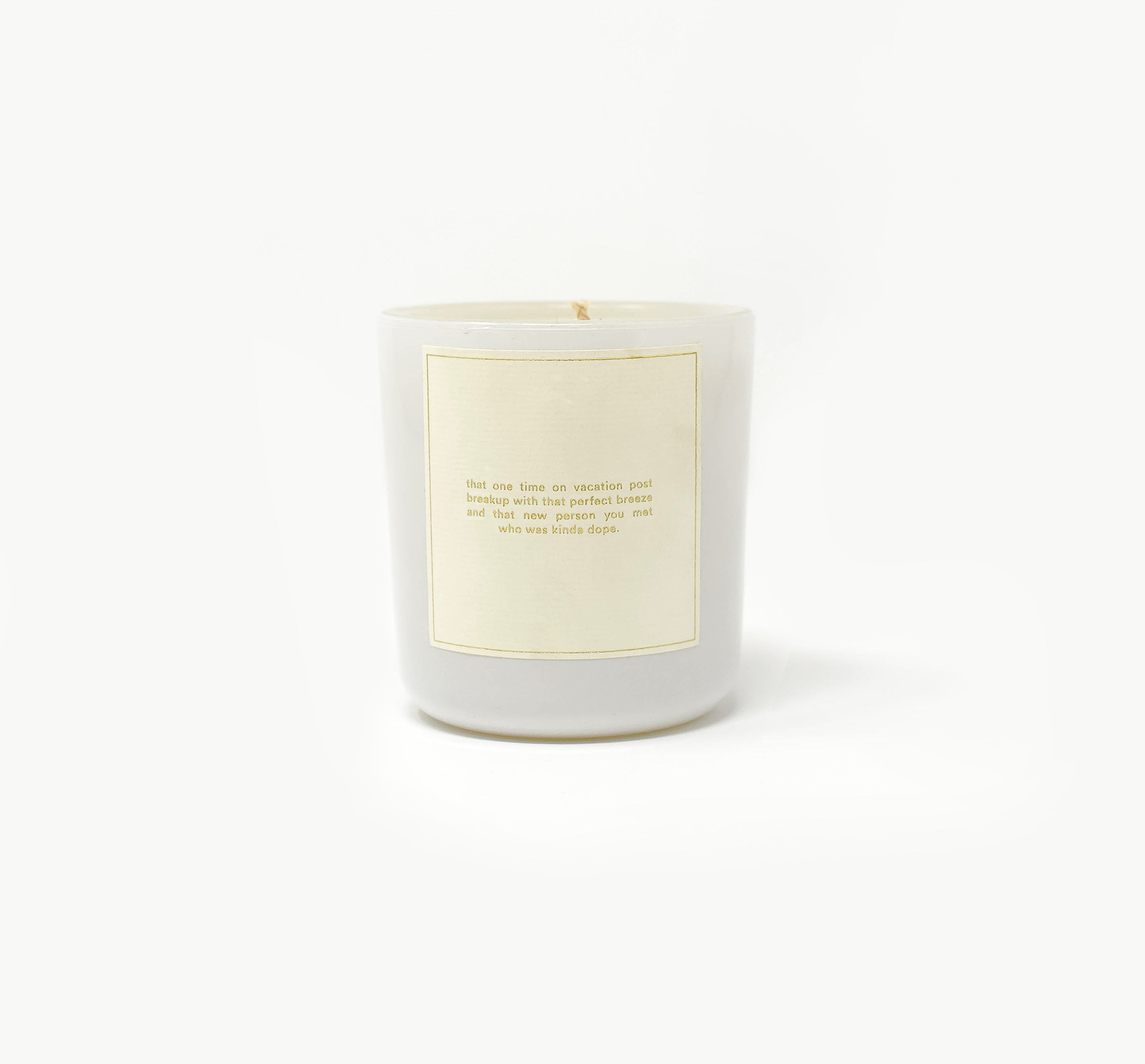Feel Good Romantic Dramady [Island] Candle