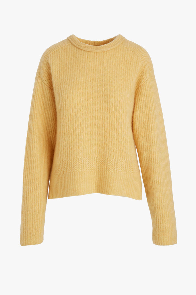 CASHMERE RIBBED SWEATER