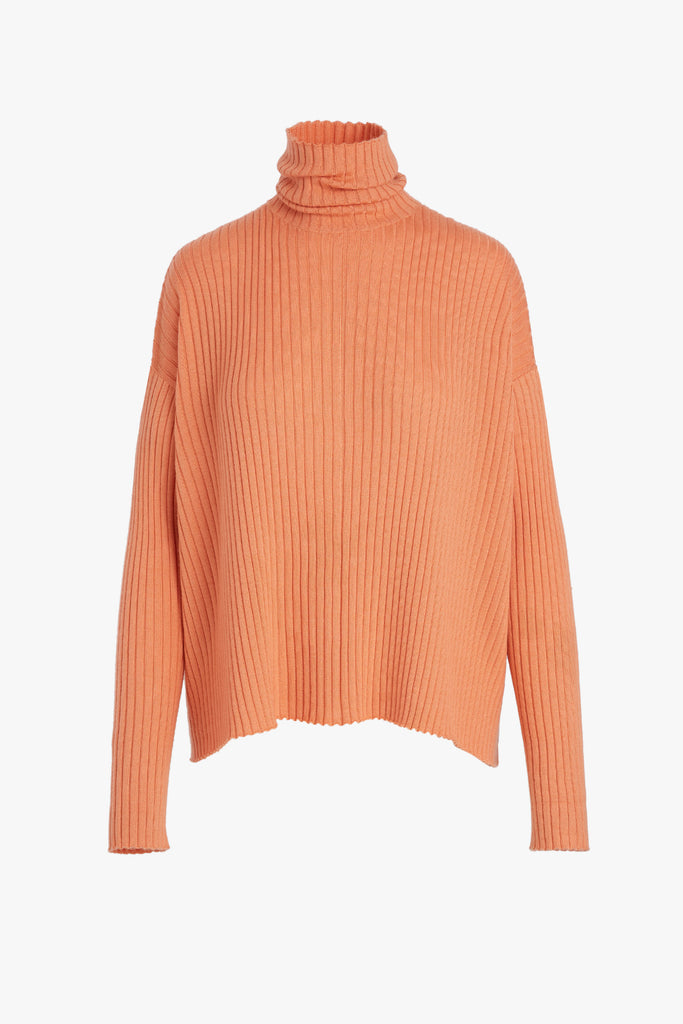 LIGHTWEIGHT RIBBED SWEATER