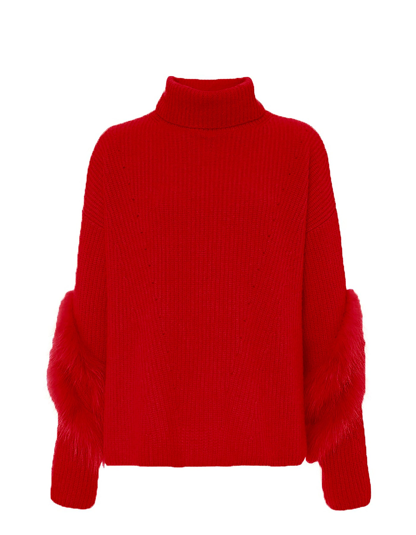 Product 4884772913238, CASHMERE FUR TURTLENECK
