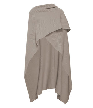Product 4981517385814, CASHMERE RIBBED CAPE - LAPOINTE