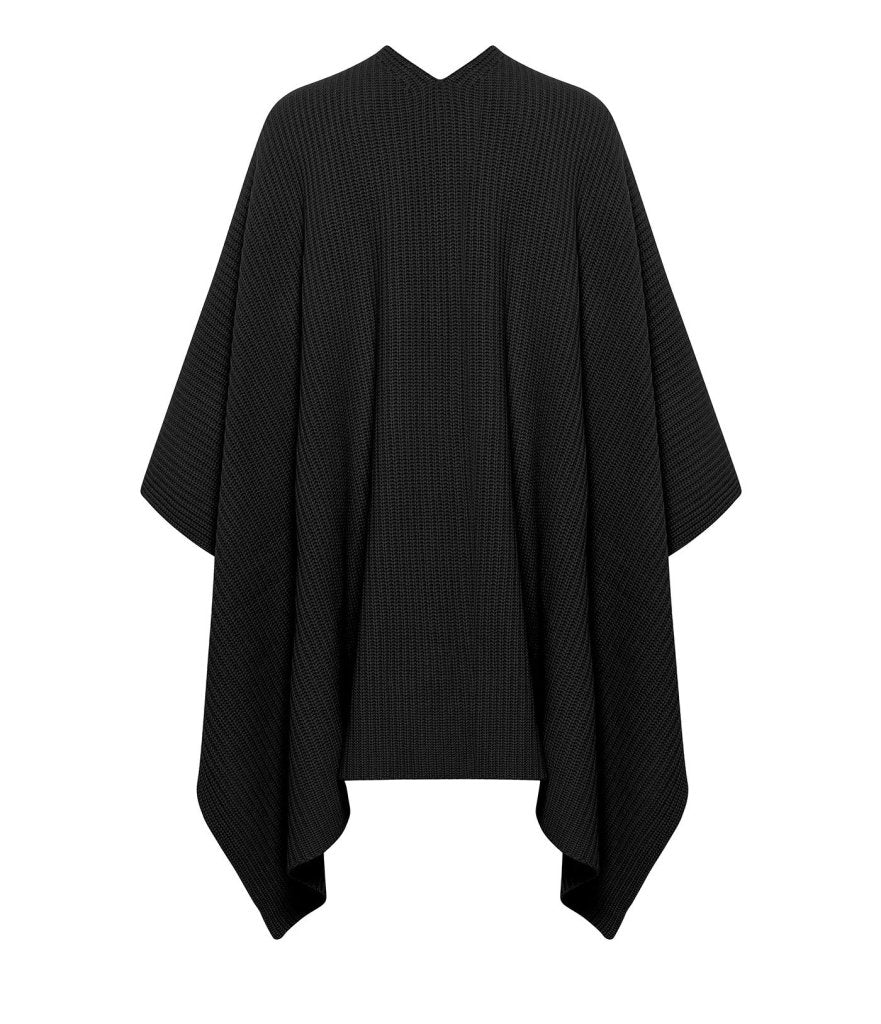 Product 6536032419926, CASHMERE RIBBED CAPE - LAPOINTE