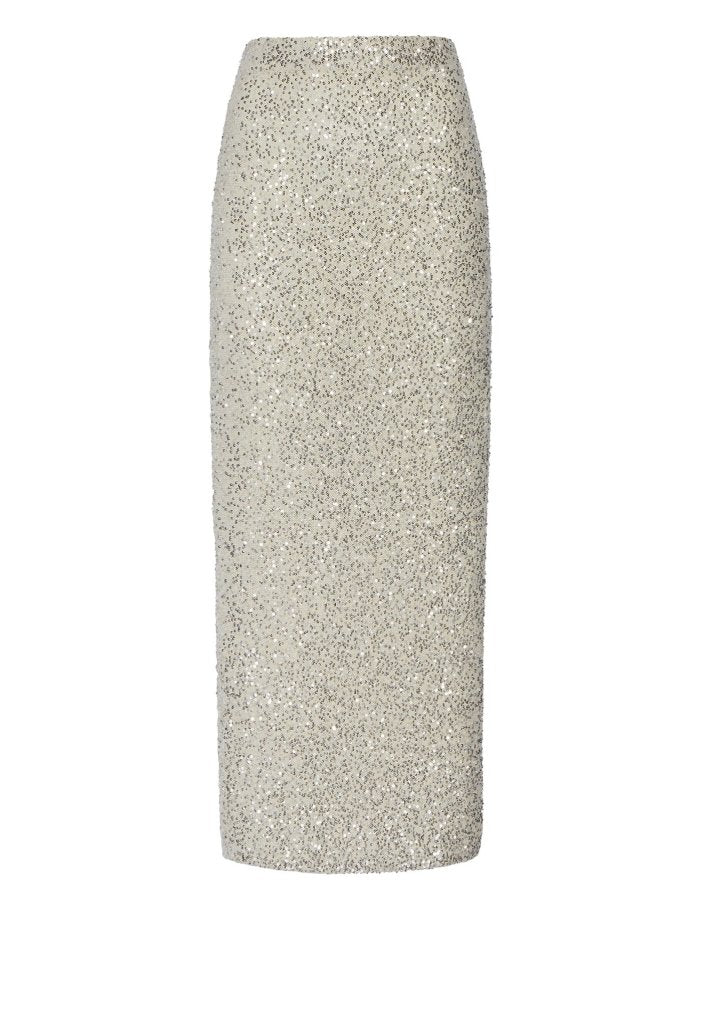 Product 4980376240214, CASHMERE SEQUIN MIDI SKIRT - LAPOINTE