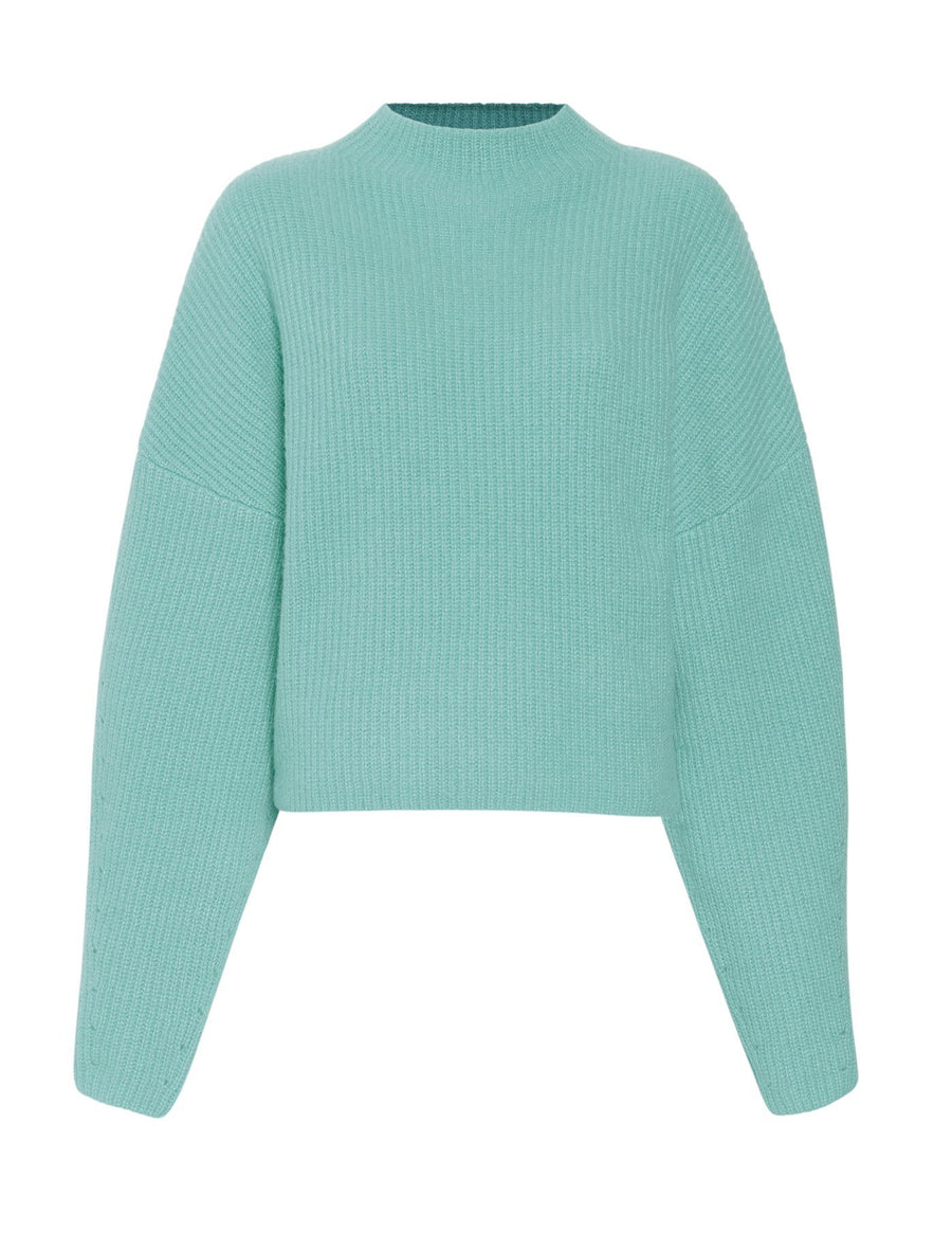 Product 6564341350486, CASHMERE SILK MOCK NECK SWEATER - LAPOINTE