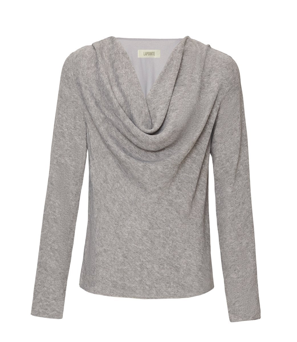 Product 4781589135446, COWL FRONT BLOUSE - LAPOINTE