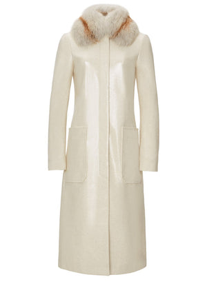 Product 4689384472662, FOX COLLAR COAT - LAPOINTE