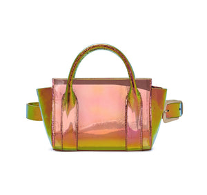 Product 4697340739670, IRIDESCENT BELT BAG - LAPOINTE