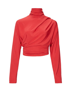 Product 4678435438678, JERSEY TURTLENECK TOP - LAPOINTE