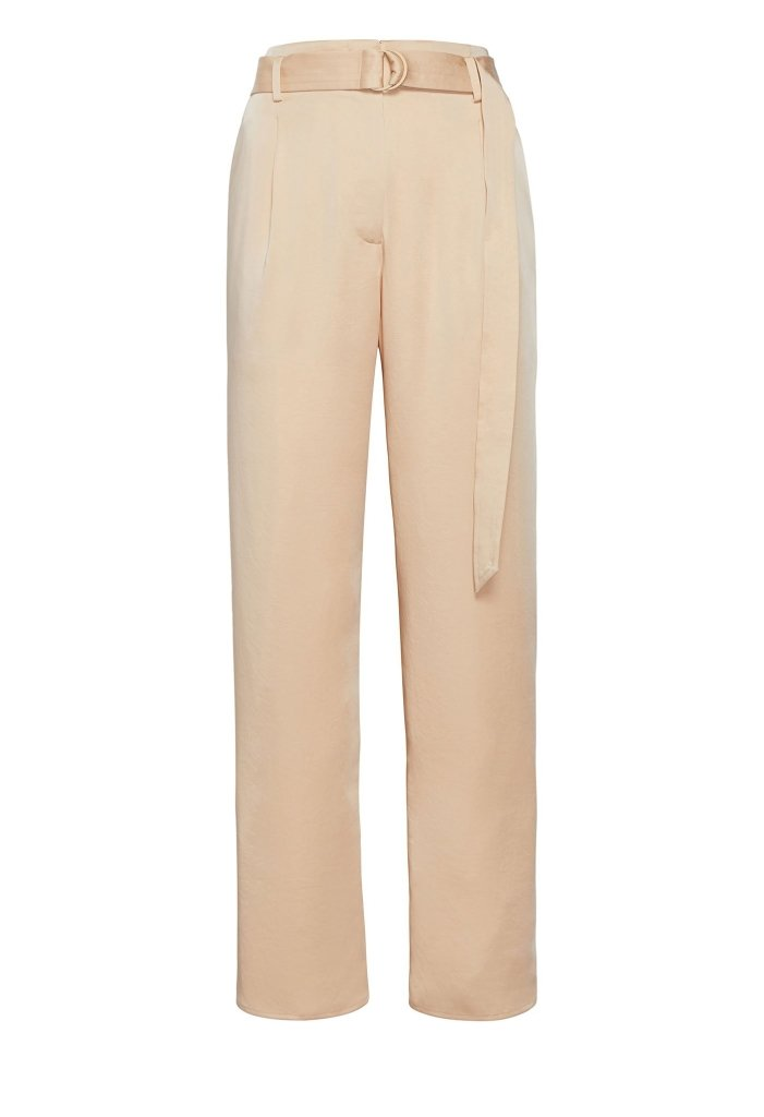 Product 4977953669206, SATIN BELTED CROPPED PANT - LAPOINTE