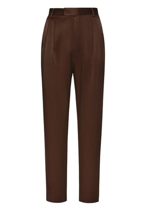 Product 4696841125974, SATIN PLEATED TROUSER - LAPOINTE